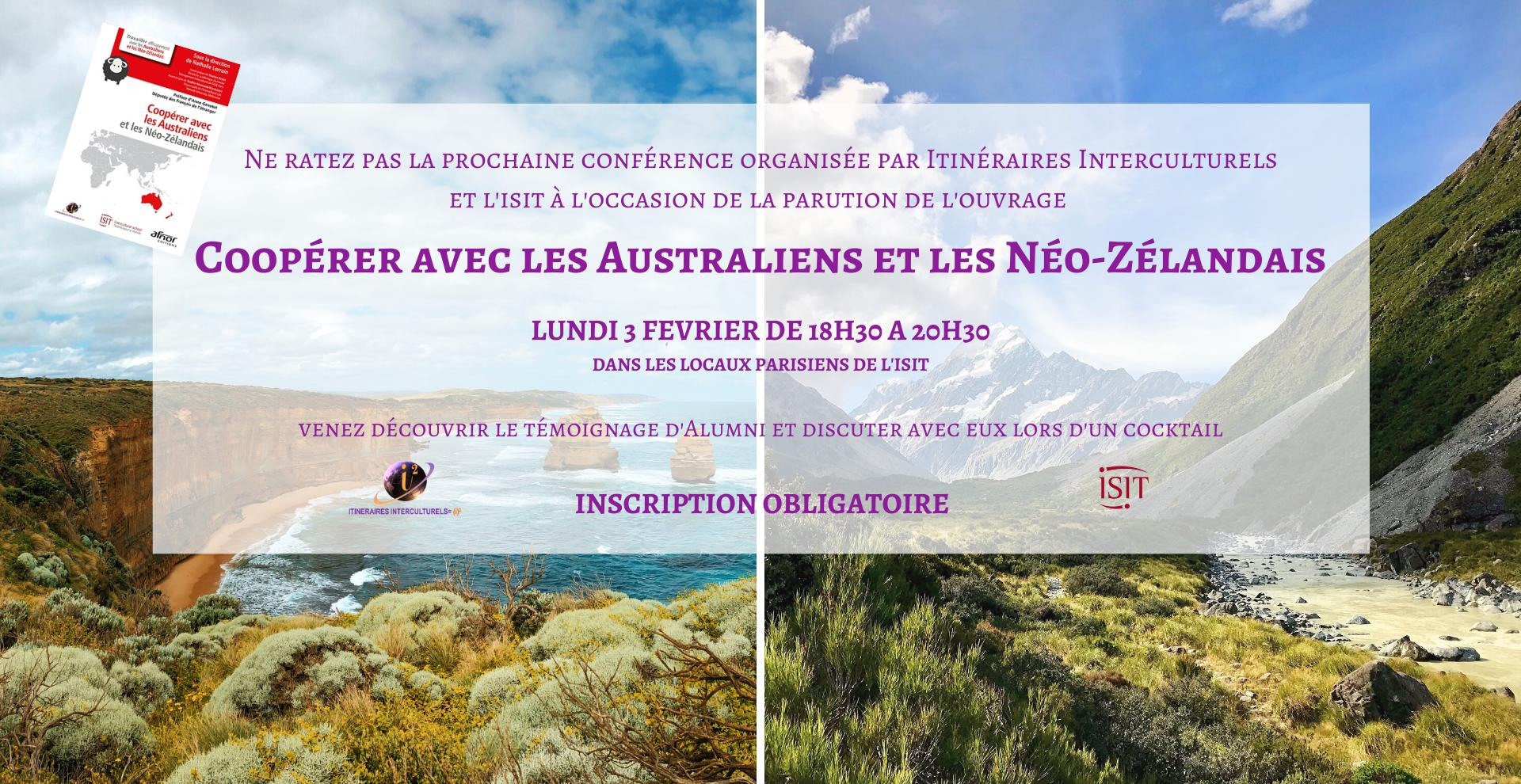 Conference: cooperate with Australians and New Zealanders