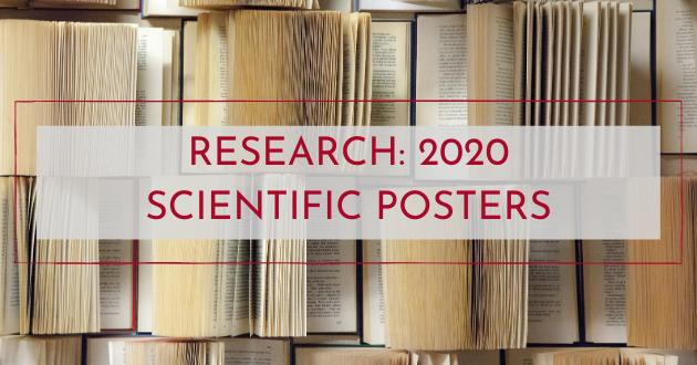 Research: 2020 scientific posters