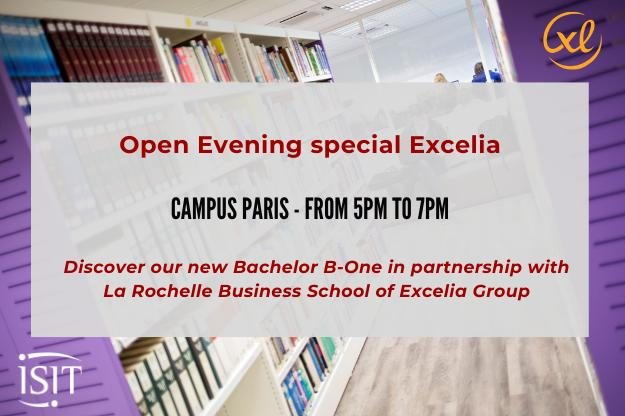Open evening special B-One – Novembre 4th – Parisian Campus