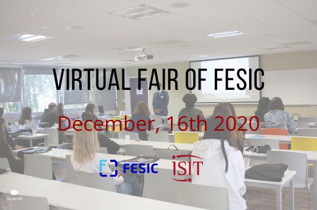 Virtual Fair FESIC – December, 16th