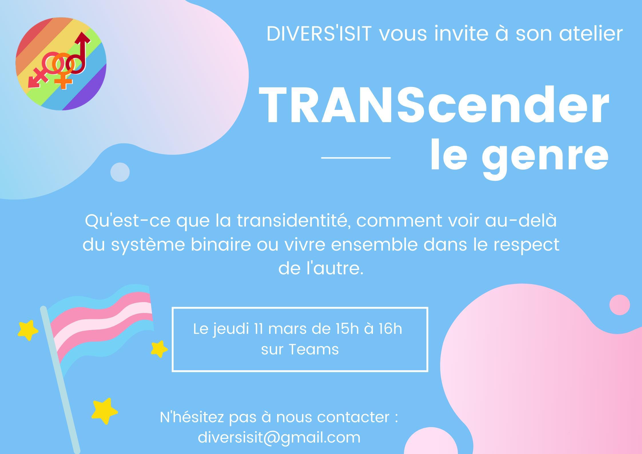 DIVERS'ISIT : TRANScending the gender